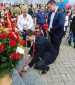 возложение цветов в оренбурге 6